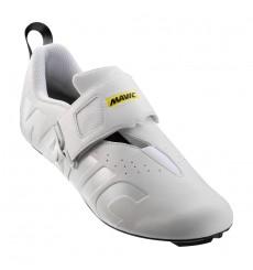 MAVIC Chaussures triathlon homme Cosmic Elite Tri Blanche 2019