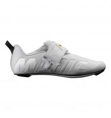 MAVIC Cosmic Elite Tri white triathlon shoes 2021