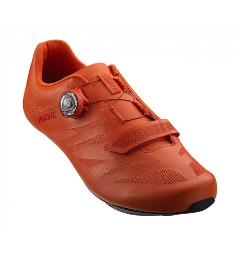 MAVIC Cosmic Elite SL red road cycling shoes 2021