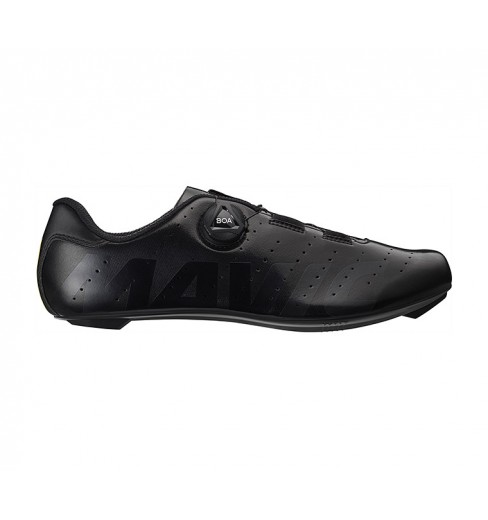 MAVIC Cosmic Boa black road cycling shoes 2020