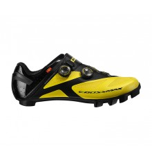 MAVIC Crossmax SL Ultimate yellow men's MTB shoes 2020