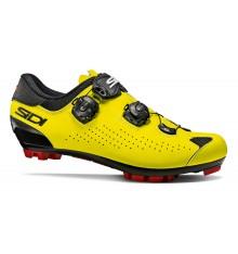 Chaussures VTT SIDI Eagle 10 noir jaune fluo 2021