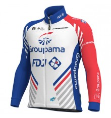GROUPAMA FDJ Winter bike jacket 2020