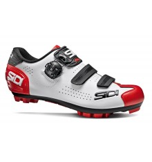SIDI Trace 2 white black red men's MTB shoes 2020