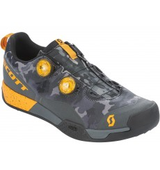 SCOTT AR Boa Clip men's MTB shoes 2020 - grey / orange