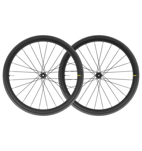 Paire de roue vélo route MAVIC COSMIC ELITE DISC