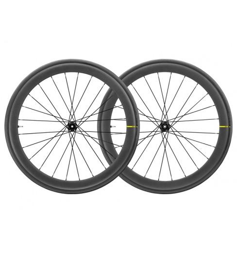 Paire de roues route MAVIC Cosmic Pro Carbon SL UST DISC