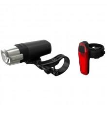 BBB éclairage vélo avant Strike 500 lumen + éclairage AR signal