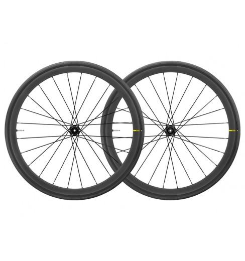 Paire roues route MAVIC KSYRIUM PRO Carbon SL UST DISC