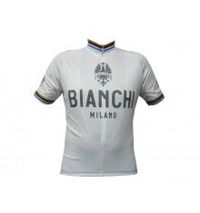 BIANCHI maillot Pride blanc