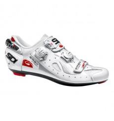 SIDI Ergo 4 Mega Carbon Composite white road shoes