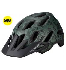 SPECIALIZED casque VTT Ambush Comp ANGI MIPS vert noir  2020