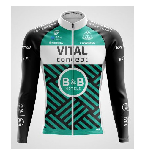 VITAL CONCEPT maillot manches longues 2019