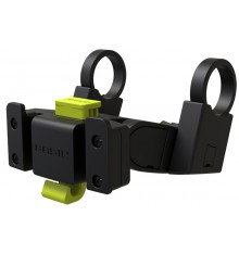 Support guidon BASIL pour paniers vélo Klickfix noir