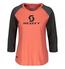 SCOTT 10 ICON RAGLAN women's 3/4 long sleeve tee 2020