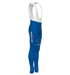 DECEUNINCK QUICK STEP FLOORS Roubaix + 3d Pad bib tights 2020