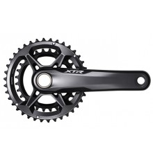 SHIMANO XTR HOLLOWTECH II MTB Crankset - 168 mm Q-Factor - 2x12-speed - 170 mm