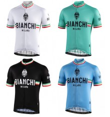 Maillot vélo manches courtes BIANCHI MILANO Isalle 2020