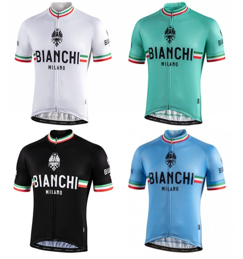 Maillot vélo manches courtes BIANCHI MILANO Isalle 2021