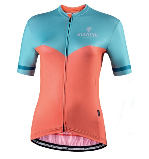 Maillot vélo manches courtes femme BIANCHI MILANO Flumendosa 2020
