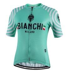 Maillot vélo femme BIANCHI MILANO Altana manches courtes 2020
