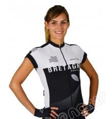 Maillot vélo manches courtes femme NORET Bretagne 2020