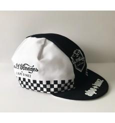 ALPE D'HUEZ casquette été damier noir/blanc 2020