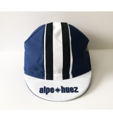 ALPE D'HUEZ checkerboard blue/white summer cap