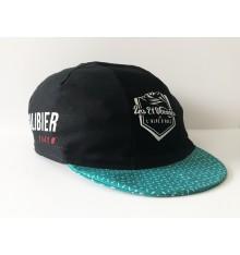 ALPE D'HUEZ col du Galibier casquette été bleu/noir2020