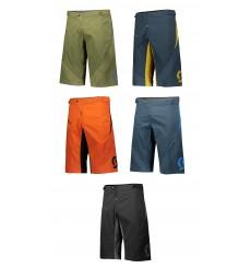 SCOTT TRAIL PROGRESSIVE men's MTB shorts with pad 2020