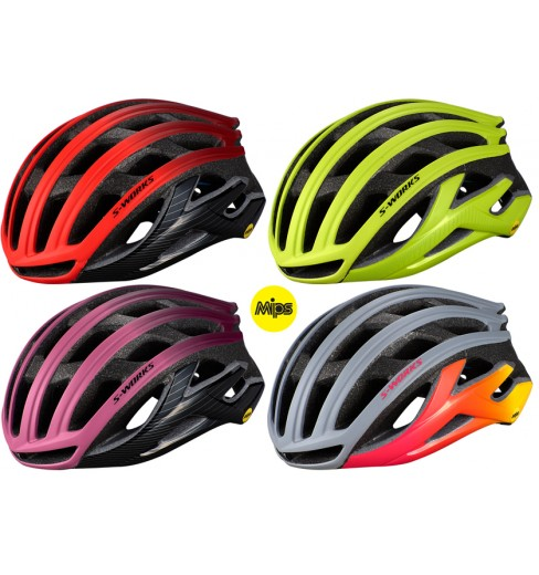 SPECIALIZED casque velo route S-Works Prevail II Angi MIPS 2020