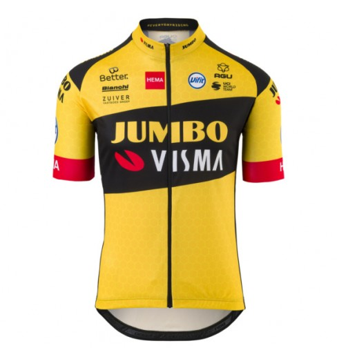 AGU 2020 REPLICA TEAM JUMBO VISMA short sleeves kid's jersey