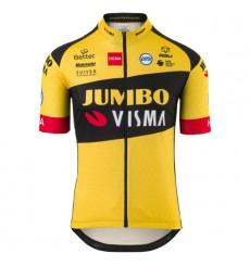 AGU maillot officiel manches courtes enfant Replica Team Jumbo Visma 2020