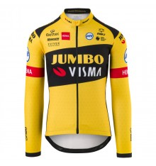 AGU 2020 REPLICA TEAM JUMBO VISMA long sleeves men's jersey