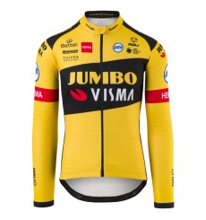 AGU 2020 REPLICA TEAM JUMBO VISMA long sleeves men's jersey