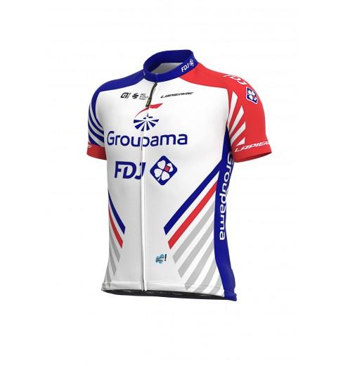 GROUPAMA FDJ junior short sleeve jersey 2020