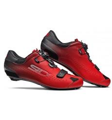 Chaussures vélo route SIDI Sixty noir rouge 2020 - Edition limitée