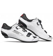 Chaussures vélo route SIDI Sixty noir blanc 2021 - Edition limitée
