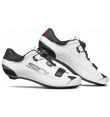 SIDI Sixty back white road cycling shoes 2021 - Limited edition