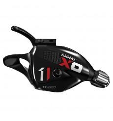 Manette VTT SRAM X01 trigger 11 vitesses Rouge