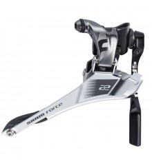SRAM FORCE 22 YAW BRAZING WITH CHAIN ​​GUARD road front Derailleur