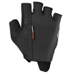 CASTELLI Rosso Corsa Espresso summer cycling gloves 2020