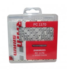 SRAM CHAIN PC-1170 HOLLOWPIN 11 SPEEDS 120 links
