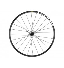 MAVIC Aksium disc 12x100 black road front wheel 2019