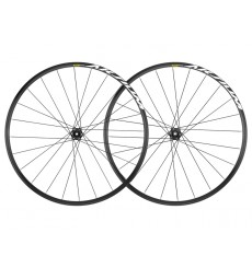 MAVIC Aksium disc 12x142 black road wheelset 2019