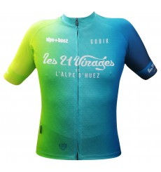 ALPE D'HUEZ GOBIK short sleeve cycling jersey 2020