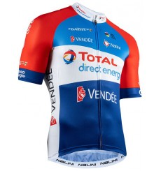 TOTAL DIRECT ENERGIE short sleeve jersey 2020
