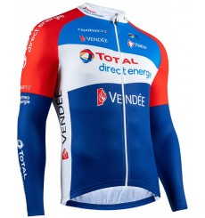 TOTAL DIRECT ENERGIE long sleeve jersey 2020