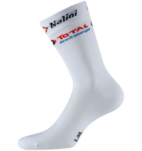 TOTAL DIRECT ENERGIE chaussettes cyclistes 2020