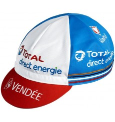 TOTAL DIRECT ENERGIE summer cycling cap 2020